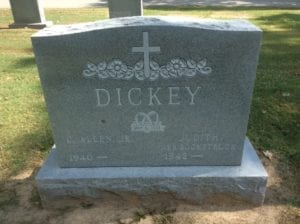 Frosted Lettering Example In Grey Granite