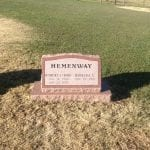 Companion Slant Headstone Memorial Inspiration